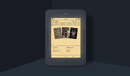 Barnes & Noble выпустила недорогую электронную книгу Nook Glowlight 3