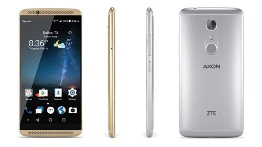 ZTE готовит новый смартфон в серии Axon