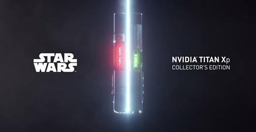 Nvidia выпустила видеокарты для фанатов «Звездных войн»