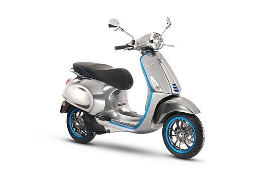 Первый электрический скутер Vespa выпустят в 2018