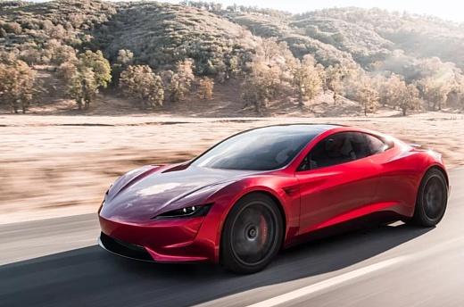 Новое авто Tesla Roadster будет стоить $200 тысяч