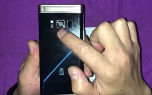 Утечка: видео с флагманской «раскладушкой» Samsung W2018