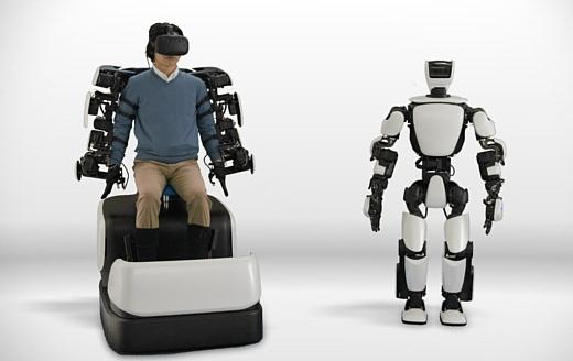 T-HR3 — новый робот Toyota, который может повторять движения людей