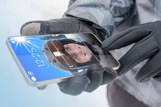 Synaptics представила сканер отпечатков пальцев, который может работать под стеклом дисплея
