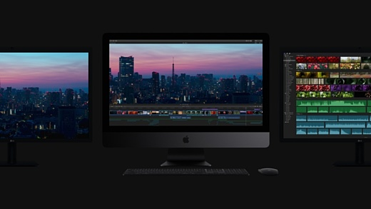 Apple начнет продажи новых iMac Pro завтра