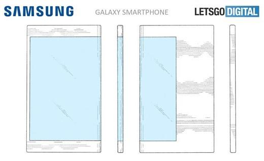 Вот как может выглядеть гибкий смартфон Samsung Galaxy X