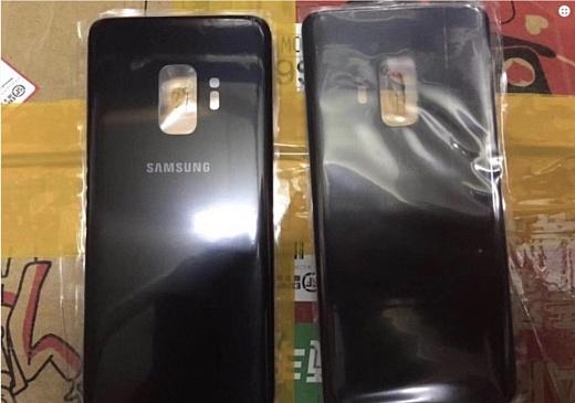 Утечка: фото задней панели Samsung Galaxy S9