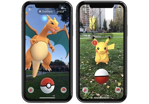 В Pokemon GO добавят ARKit-функционал