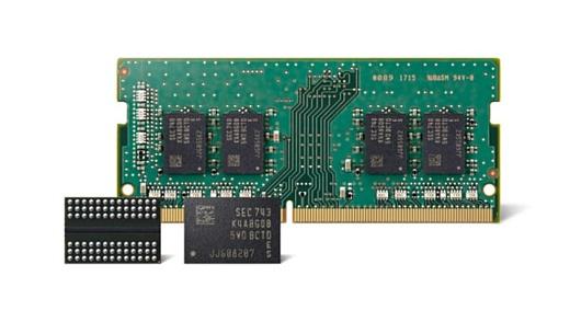 Samsung начала производство 10 нм чипов RAM второго поколения