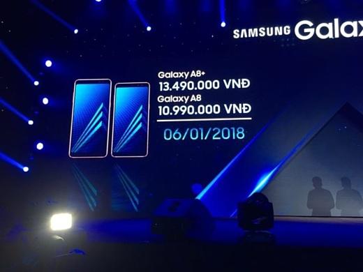 Samsung подтвердила дату выхода Galaxy A8 (2018) и A8+ (2018)