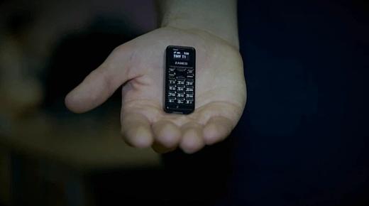 Zanco tiny t1 — новый самый маленький в мире мобильник