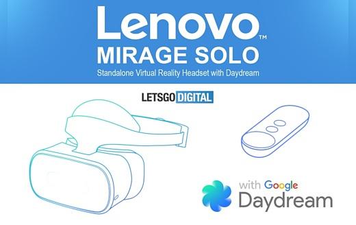 Lenovo готовит автономный VR-шлем Mirage Solo
