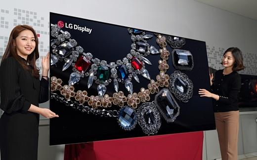 LG показала первый в мире 88-дюймовый 8К-дисплей