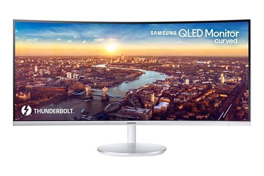 Samsung выпустила изогнутый QLED-монитор CJ791