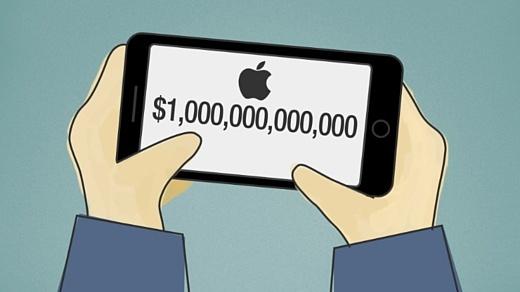 Прогноз: в 2018 стоимость Apple достигнет $1 трлн