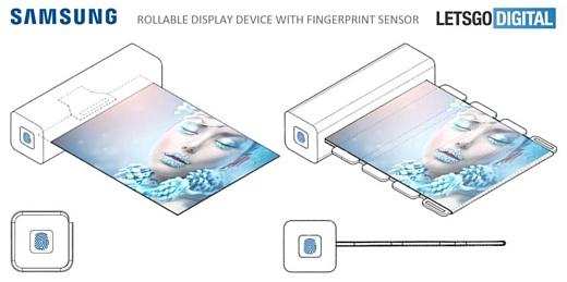 Samsung запатентовала сворачиваемый гибкий дисплей