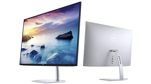 Dell представила два новых ультратонких монитора