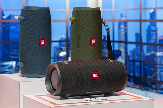 JBL продемонстрировала три новые портативные Bluetooth-колонки