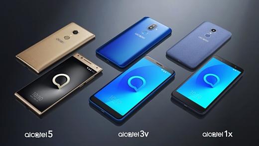 Alcatel показала новые смартфоны с 18:9 экранами