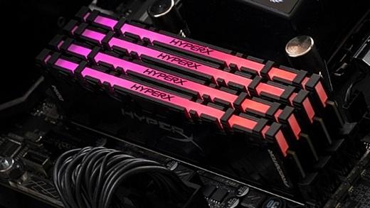 Kingston представила оперативную память HyperX Predator с RGB-подсветкой