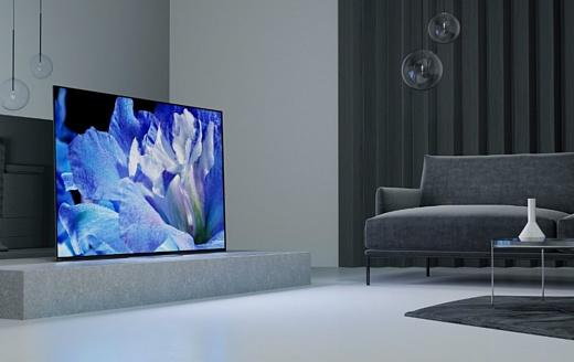 Sony анонсировала новые телевизоры A8F и X900F