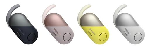 Sony анонсировала три пары беспроводных наушников-«затычек»