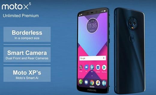 Опубликованы фото и характеристики Moto X5, G6, G6 Plus и G6 Play