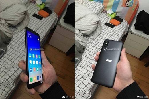 Утечка: фотографии Xiaomi Mi 6X