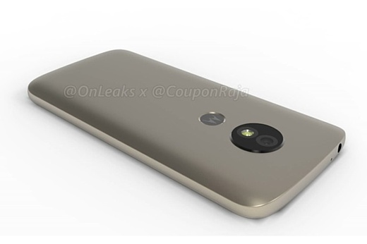 Утечка: рендеры нового Motorola Moto E5