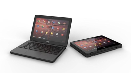 Dell представила новые ноутбуки Chromebook 5190