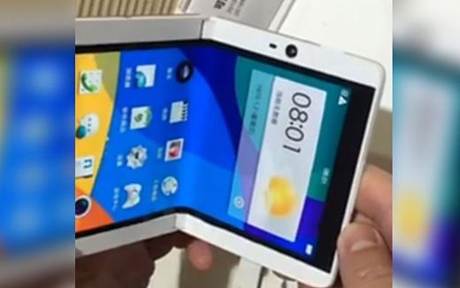 Oppo запатентовала складной смартфон с одним экраном