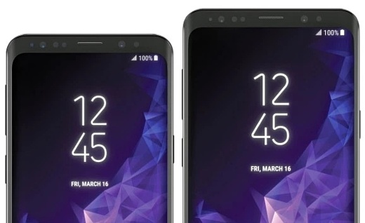 Утечка: пресс-фото Samsung Galaxy S9 И S9+
