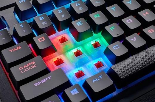 Corsair представила новую версию клавиатуры K68
