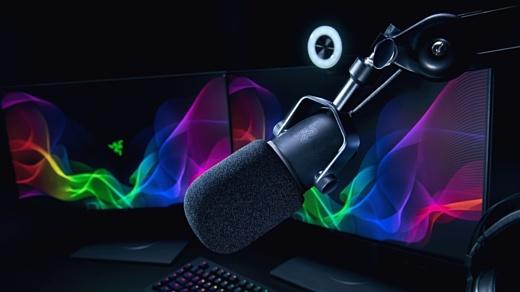 Razer представила новый микрофон для стримеров под названием Seiren Elite