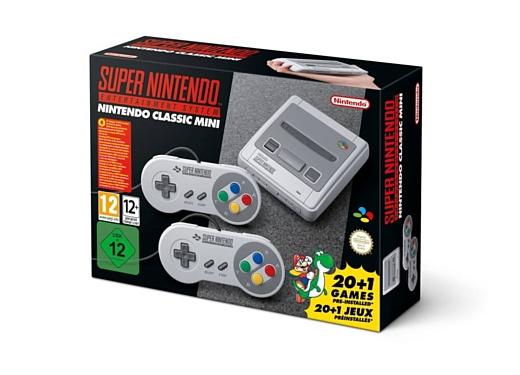 Nintendo продала больше 4 млн ретро-консолей SNES Classic