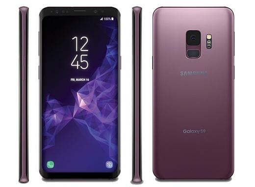 В сеть попали пресс-рендеры Samsung Galaxy S9 и Galaxy S9+
