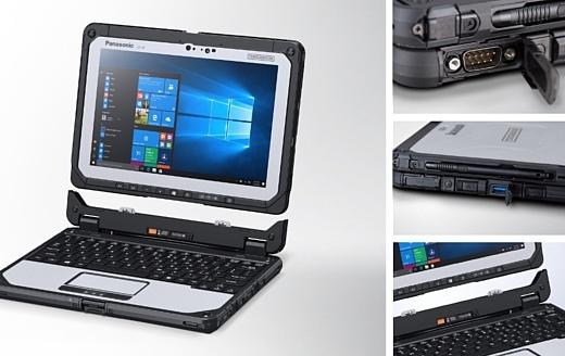 Panasonic анонсировала защищенный ноутбук Toughbook CF-20 Mark 2