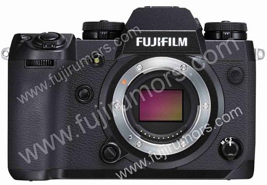 Утечка: фотография неанонсированной камеры Fujifilm X-H1