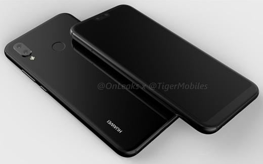 Опубликованы новые рендеры Huawei P20 Lite