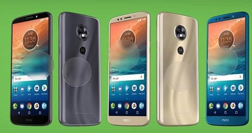 Все смартфоны Motorola Moto G6 получат 18:9 экраны