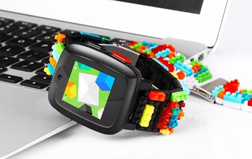 Omate x Nanoblock — умные часы для детей с 3G