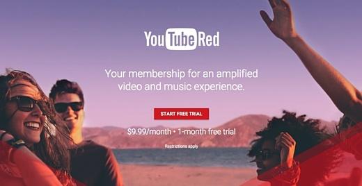 Сервис YouTube Red запустят в сотне новых стран