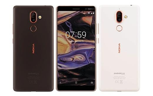 Утечка: рендеры Nokia 7 Plus и Nokia 1