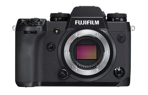 Fujifilm представила топовую камеру X-H1