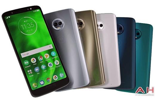 В сеть попал пресс-рендер Motorola Moto G6 Plus