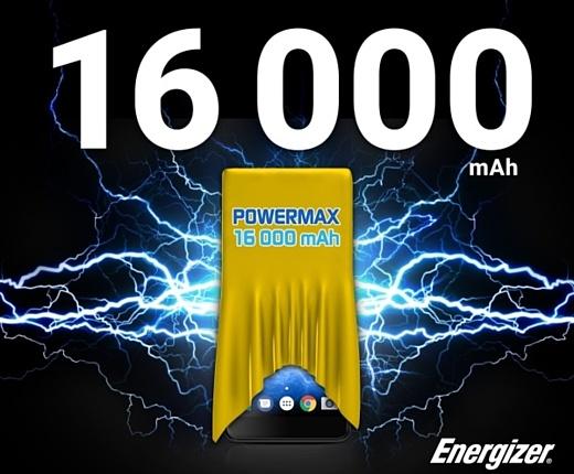 Energizer готовит к анонсу смартфон с аккумулятором емкостью в 16000 мАч