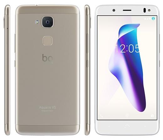 BQ анонсировала недорогие смартфоны Aquaris VS и VS Plus