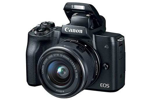 Canon анонсировала беззеркальную камеру M50