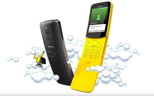 Nokia решила воскресить модель 8110