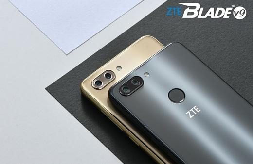 ZTE показала недорогие смартфоны Blade V9 и V9 VITA